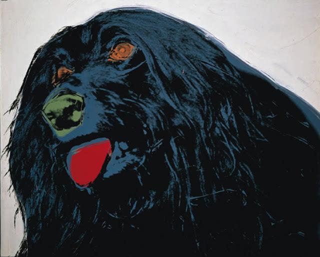 Warhol el perro en el arte