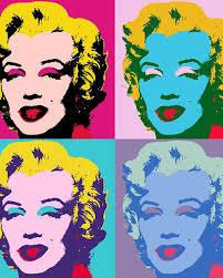 Warhol retrato Marilyn Monroe