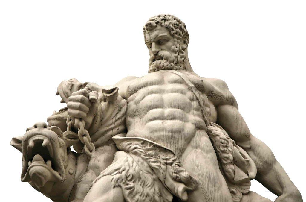 Hércules y Cancerbero