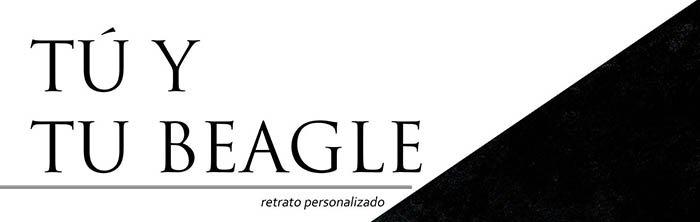 tu beagle retrato