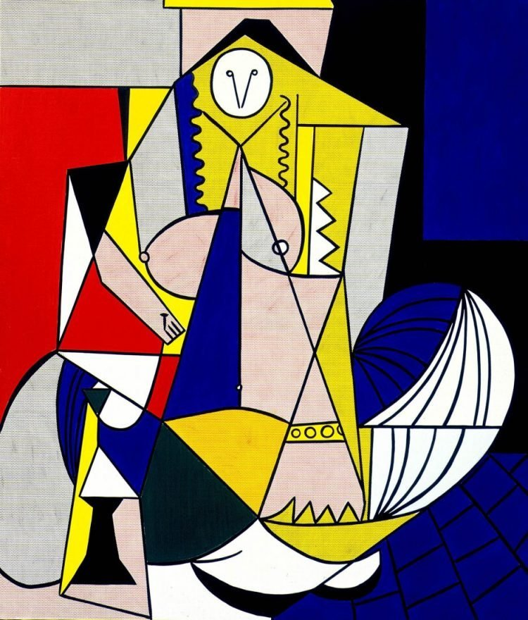 Mujer de Argel ,1963 Roy Lichtenstein